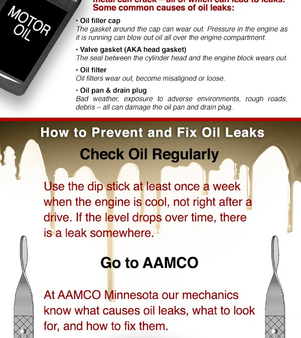 How Do Oil Leaks Happen? – Infographic