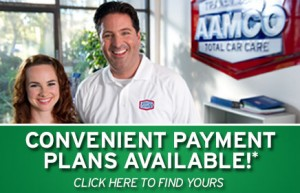 image - smiling AAMCO people ready to help - convenient payment plans available