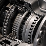 image of modern automatic car transmission