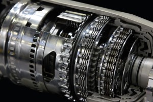 Image of automatic transmission internals - gears, cogs.