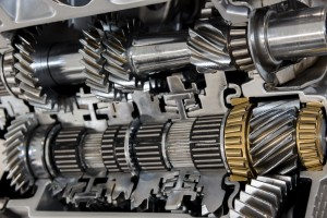 Image of automatic transmission internals, lots of gears, cogs interlocking.