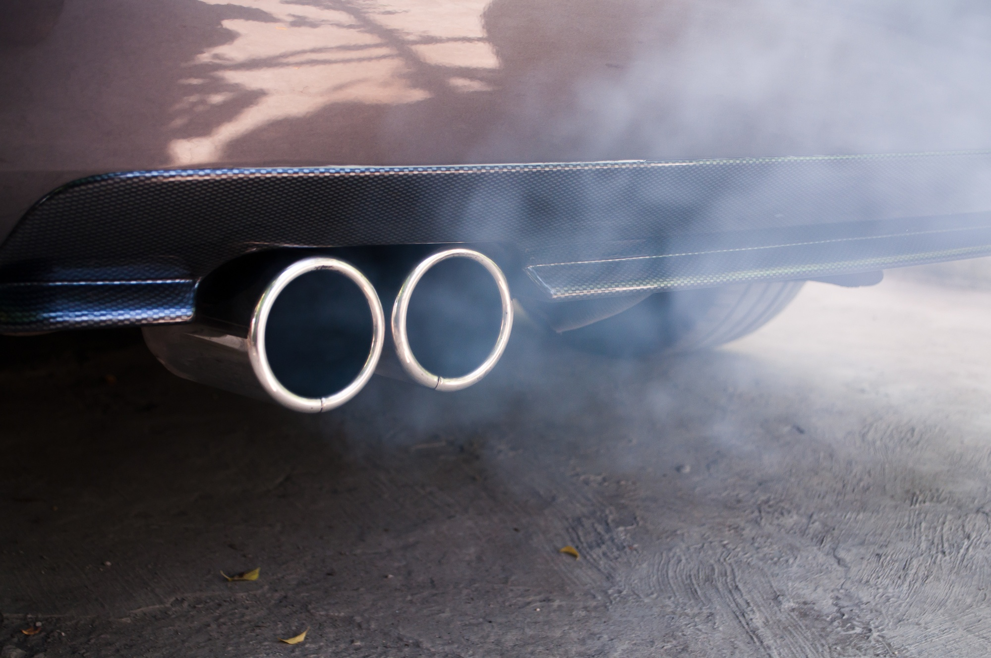 Bad Smelling Exhaust Fumes