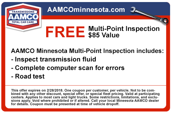 image - coupon for free multi-point vehicle inspection