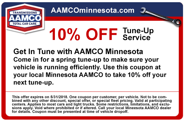 coupon 10% tune up service
